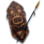 64x64px size png icon of Cult of Kong Shield and Spear