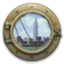 64x64px size png icon of Docked at New York Pier