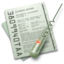 64x64px size png icon of Document & Big Bug