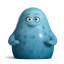 64x64px size png icon of Cute Blue Monsters
