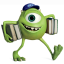 64x64px size png icon of Monsters Character Young Mikes