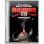 64x64px size png icon of Dragon 3D
