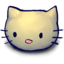 64x64px size png icon of Kitty Head