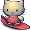 64x64px size png icon of Kitty