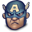 64x64px size png icon of Steve Rogers