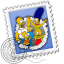 64x64px size png icon of Mail Simpsons
