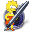 64x64px size png icon of Pages Lisa