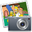 64x64px size png icon of iPhoto simpsons