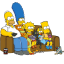 64x64px size png icon of The Simpsons 01