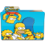 64x64px size png icon of Simpsons Folder 01