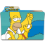 64x64px size png icon of Simpsons Folder 05