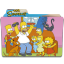64x64px size png icon of Simpsons Folder 09