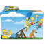 64x64px size png icon of Simpsons Folder 10