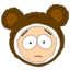 64x64px size png icon of Butters Mr Biggles head