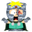 64x64px size png icon of Butters Professor Chaos