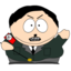 64x64px size png icon of Cartman Hitler zoomed