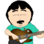 64x64px size png icon of Randy Marsh Jamming