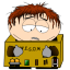 64x64px size png icon of cartman awesom o exhausted