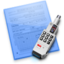 64x64px size png icon of Commlock Doc Blue