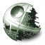 64x64px size png icon of Death Star
