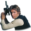 64x64px size png icon of Han Solo 02