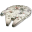 64x64px size png icon of Millenium Falcon 01