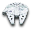 64x64px size png icon of MilleniumFalcon