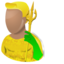 64x64px size png icon of Aquaman