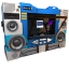 64x64px size png icon of Transformers Soundwave no tape side