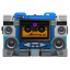 64x64px size png icon of Transformers Soundwave tape front