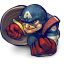 64x64px size png icon of Comics Captain America