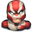 64x64px size png icon of Comics Hero Striped