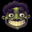 64x64px size png icon of Comics Hulk Happy