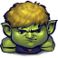 64x64px size png icon of Comics Hulkling Sulking