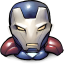 64x64px size png icon of Comics Iron America