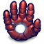 64x64px size png icon of Comics Ironman Hand