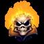 64x64px size png icon of Comics Jonny Blaze 2