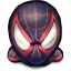 64x64px size png icon of Comics Spiderman Morales