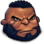 64x64px size png icon of Final Fantasy Barret Wallace