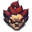 64x64px size png icon of Street Fighter Akuma