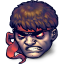 64x64px size png icon of Street Fighter Dark Hadou