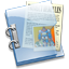 64x64px size png icon of Folder and Documents