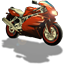 64x64px size png icon of Motorcycle