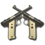 64x64px size png icon of Pistols