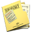 64x64px size png icon of Top Secret Folder and Documents