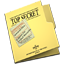 64x64px size png icon of Top Secret Folder