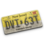 64x64px size png icon of New Jersey License Plate