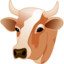 64x64px size png icon of Cow head