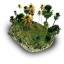 64x64px size png icon of Tropical Stone