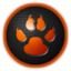 64x64px size png icon of paw
